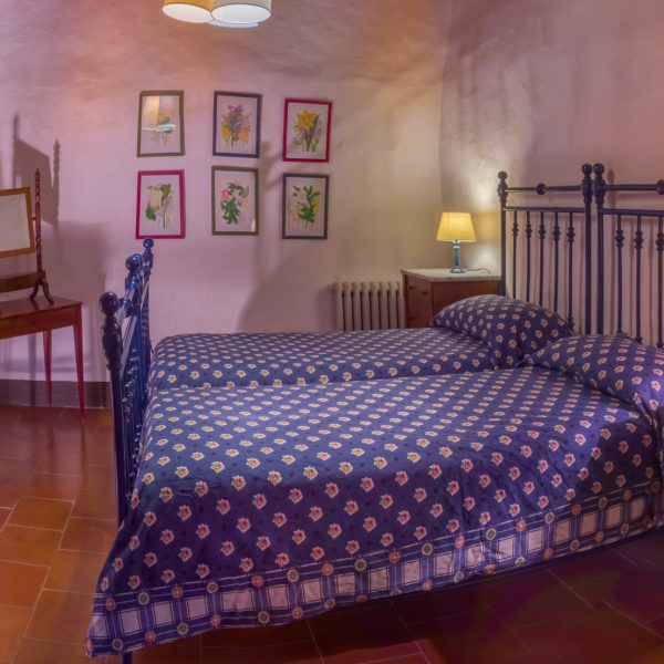 Bedroom Leccio cottage Masseto in Chianti