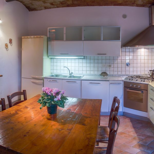 Kitchen Leccio cottage Masseto in Chianti
