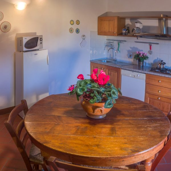Kitchen Quinto cottage Masseto in Chianti