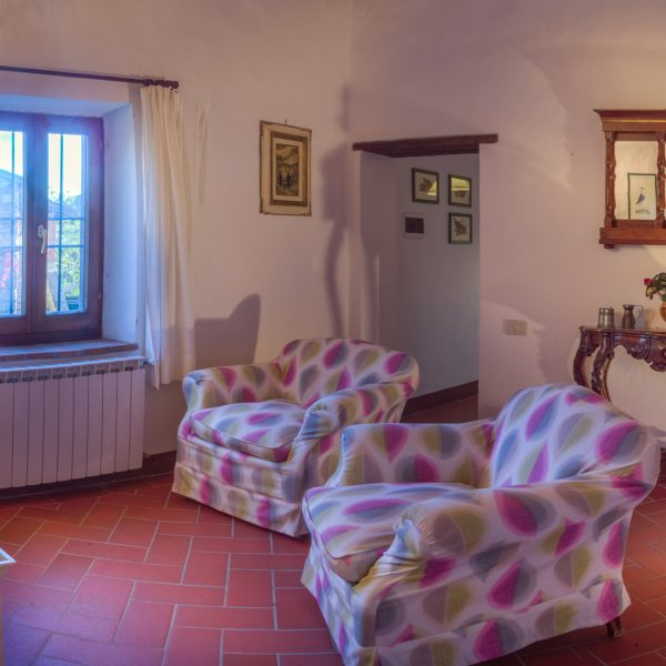 Living room Quinto cottage Masseto in Chianti