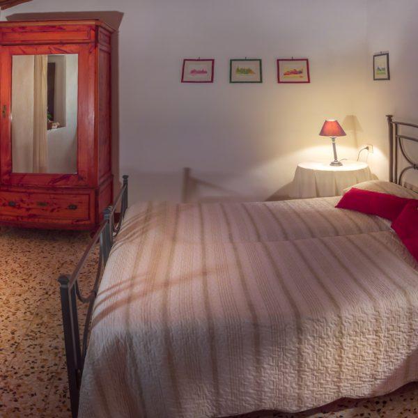 Bedroom in Vittoria cottage Masseto in Chianti