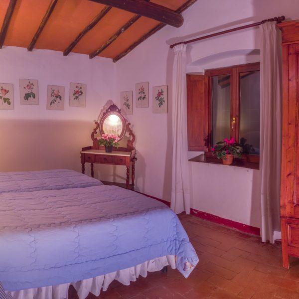 Bedroom Cappero cottage Masseto in Chianti